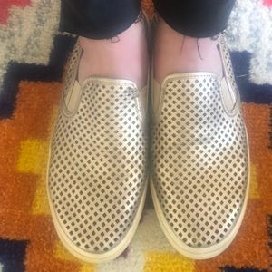Size 10 Tory Burch slip on shoes